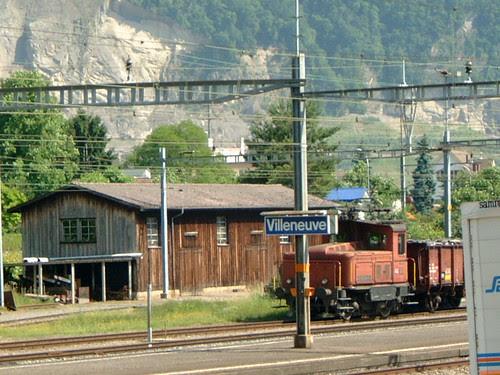 montreux to Villeneuve