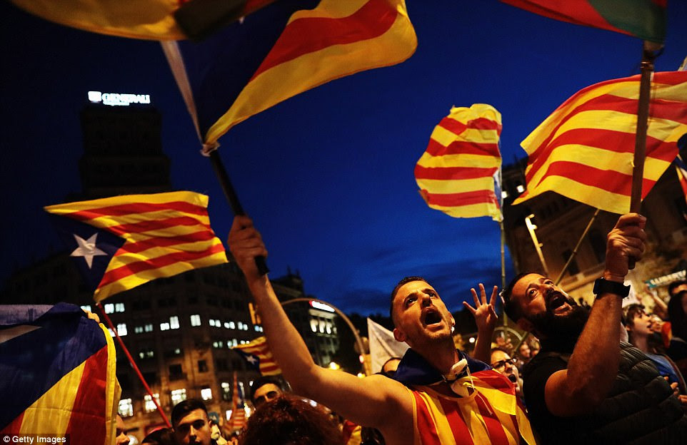 Even moderate Catalans were aghast at the scope of the Spanish government's plans, and the announcement was met with banging pots and honking cars in the streets of Barcelona