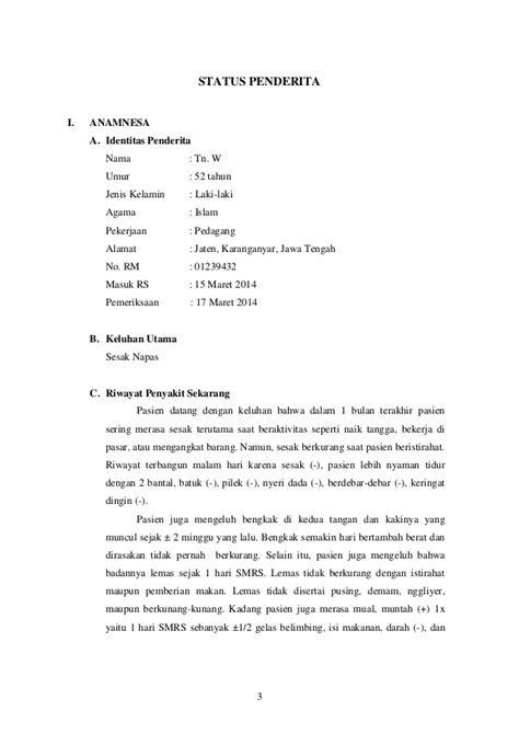 Contoh Resume Hipertensi - Contoh Drop