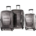 Samsonite Winfield 2 Fashion Hardside Spinner 3 pc. Set Charcoal