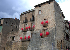 Artistic Display in Girona