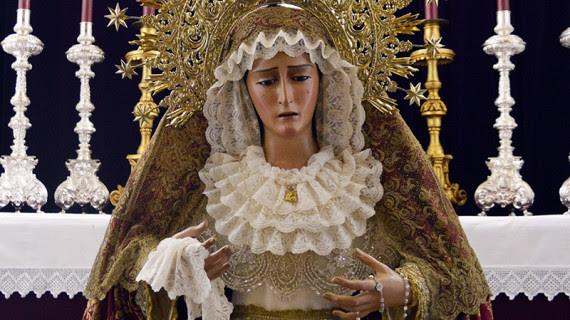 Resultado de imagen de Virgen del Refugio de Huelva