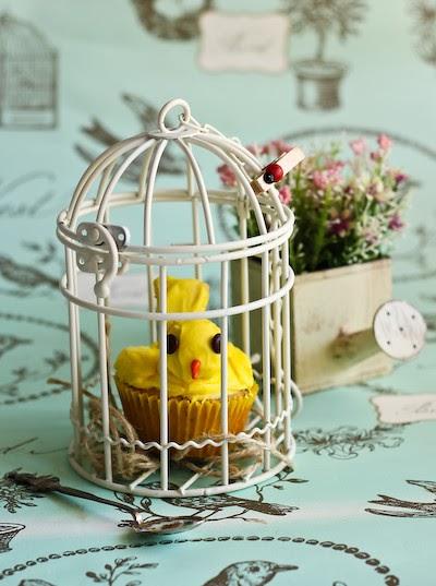 Birdcage Cupcake Cardboard Cake Stand Vintage Wedding Tea Party