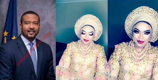 Bobrisky used a U.S senator's photo for his sham wedding introduction? (Photo)