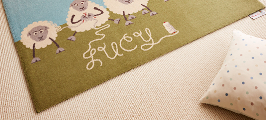 Axminster Personalised Imagination Rugs - Baby Gifts