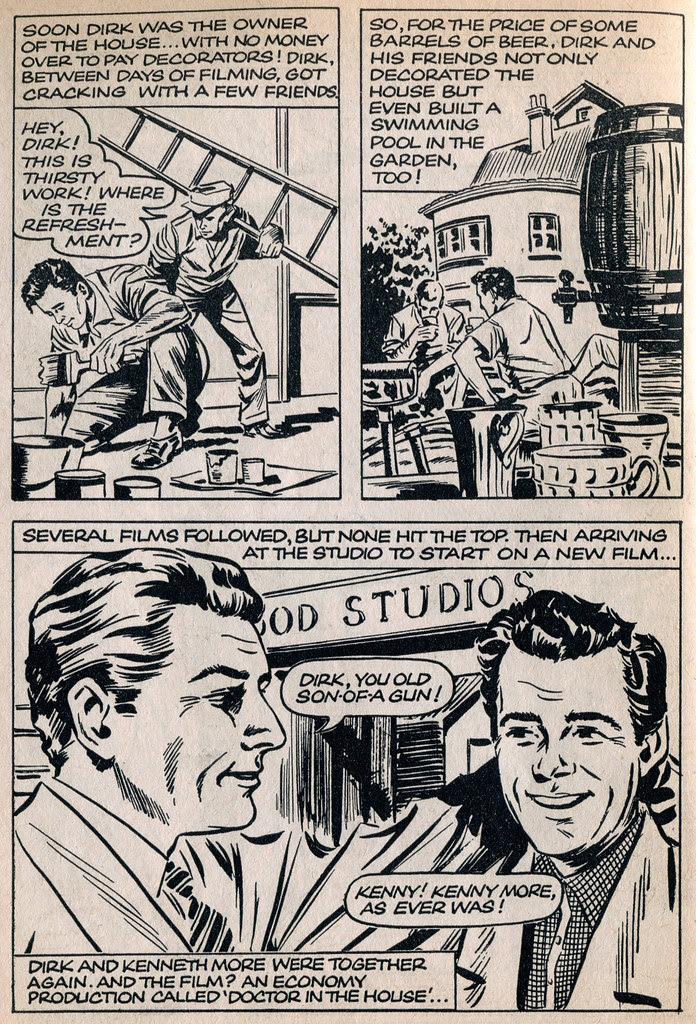 Dirk Bogarde comic 19
