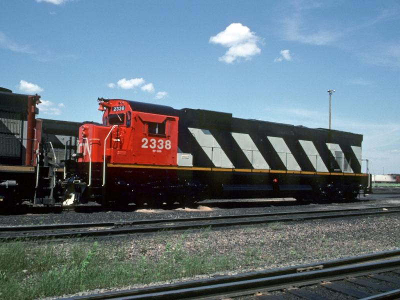 CN 2338 in Moncton, NB by Greg Brewer