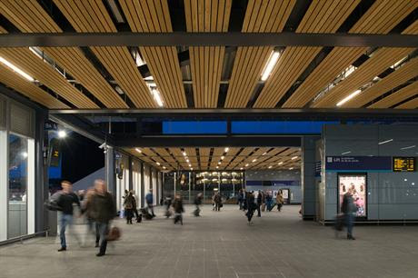Commuter hub: push for higher densities (picture by Network Rail)