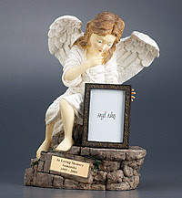 Angel Photo Frame Pet Urns