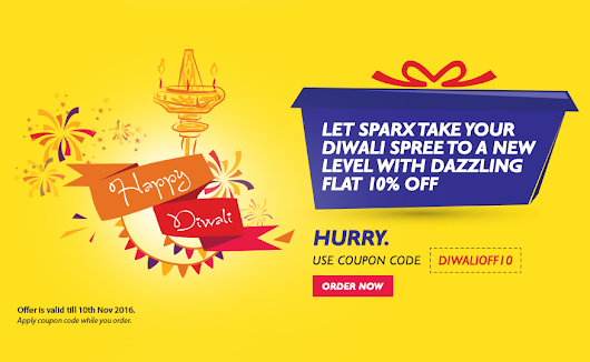 Sparx IT Solutions Proffers 10% Diwali Discount on All Projects - Sparx IT Solutions Blog