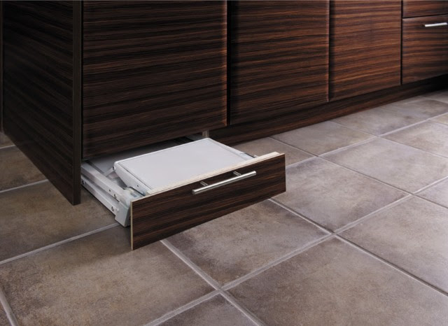 Toe Kick Step Stool Storage - Modern - Kitchen Drawer ...