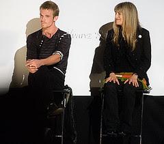 Cam Gigandet y Catherine Hardwicke