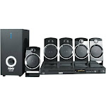 Naxa ND-859 5.1 Channel Home Theater System - Black