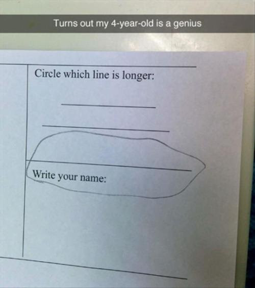 4 year old genius