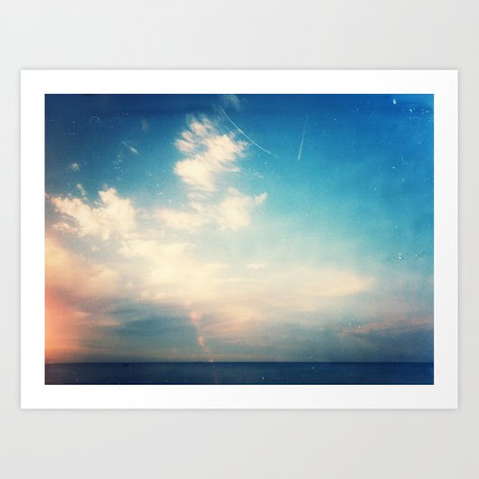 Fly over Art Print by Metamorview | Society6