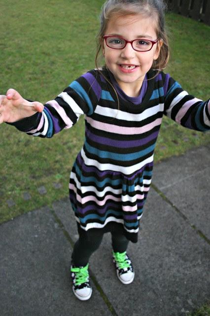 sweater refashion dress 4