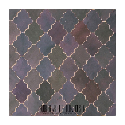Arabesque Tile | Moroccan Kitchen