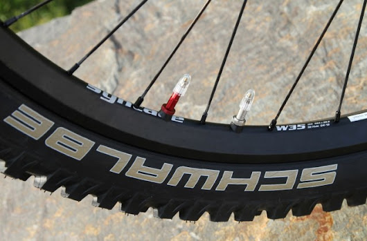 Singletrack Magazine | Schwalbe & Syntace introduce dual-chamber tyres