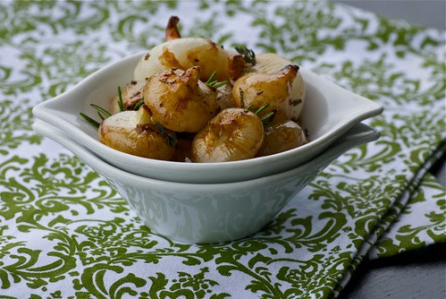 balsamic roasted cippolini onions