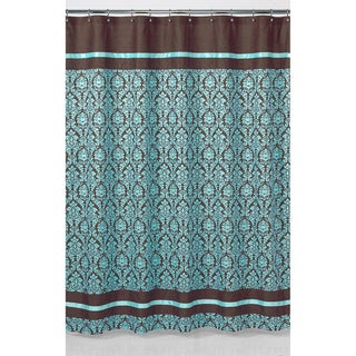 aqua and brown shower curtains | Best Modern Furniture Design ...
