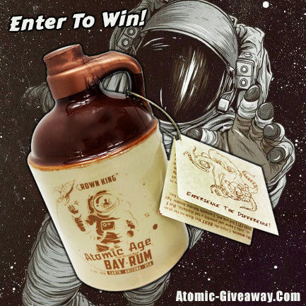 The Most Epic Atomic Age Bay Rum Collectible Stoneware Jug Giveaway!