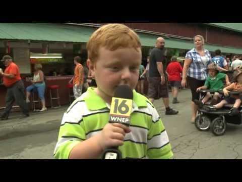 5 Year Old Kid Become Superstar on Local News