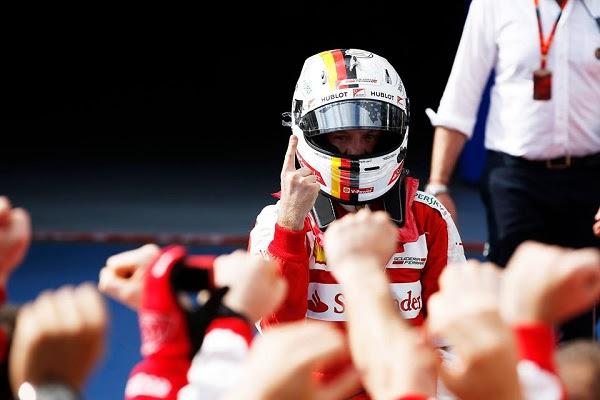 Sebastian Vettel está a uma vitória de se igualar a Ayrton Senna em número de corridas vencidas
