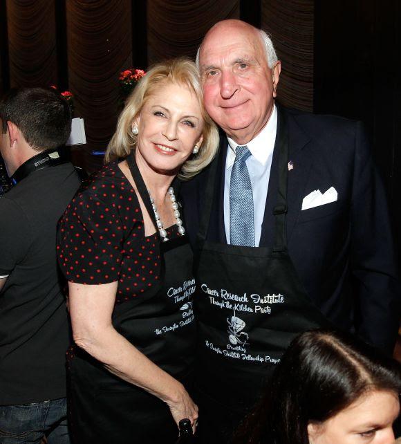 Lauren Veronis (L) and Kenneth Langone.