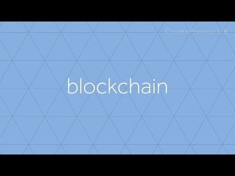 The Blockchain explained with CryptoPreneur UK