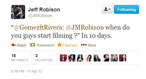 Selena Gomez and her'Rudderless' co-stars start filming'Rudderless' in 10 days!