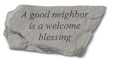 Inspirational Quotes 75920 A Good Neighbor Is A Welcome Blessing