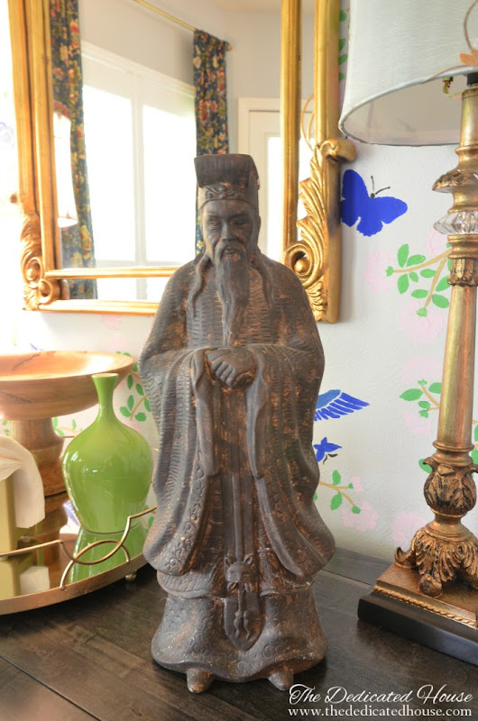 Art Niche Chinoiserie Style - The Dedicated House