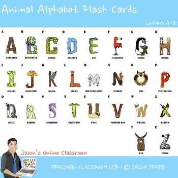 Alphabet Animal Letters (FREEBIE)