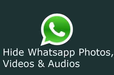 How To Hide WhatsApp Images & Videos From Gallery