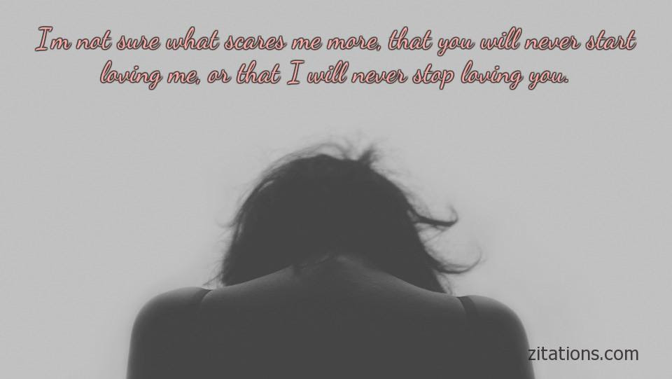 One Sided Love Quotes To Express Broken Hearts Grief Zitations