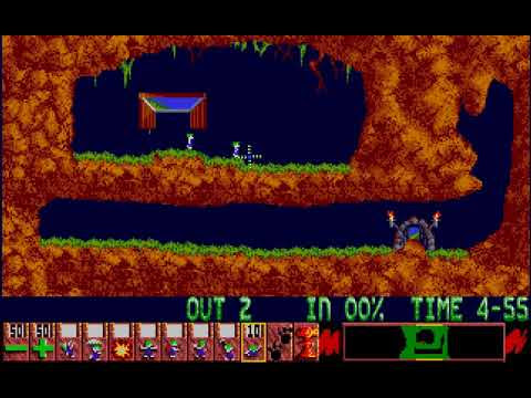 Lemmings - Atari ST - levels 1-5