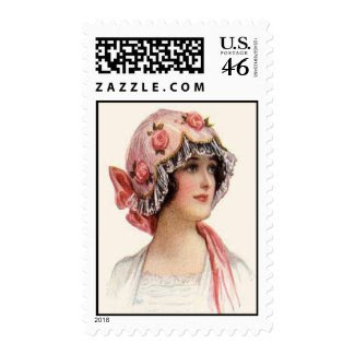 VINTAGE HAT FASHION stamp