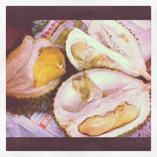 Our 4th night of durian supple!:D (Taken with instagram)