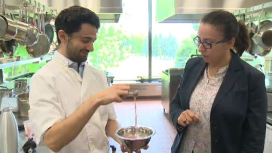 Canadian students invent ice cream that is stored at room temperature