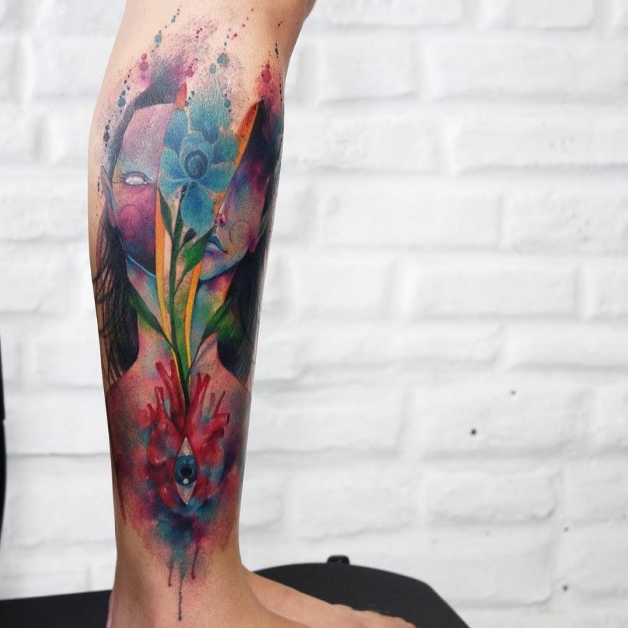 Watercolor Flower Half Sleeve Tattoo Flowers Healthy