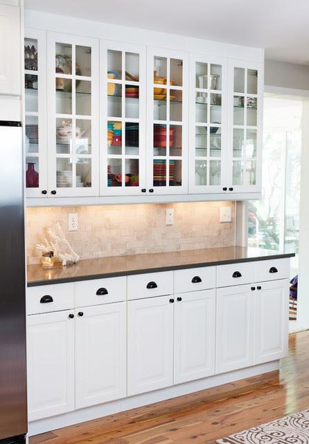 IKEA Lidingo White Kitchen - Contemporary - Kitchen ...