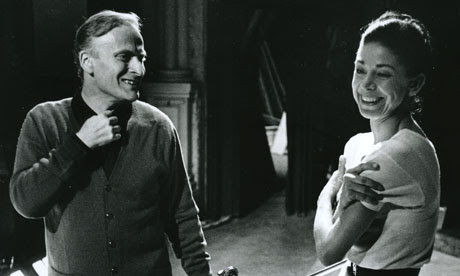 Yehudi Menuhin and Margot Fonteyn by David Farrell