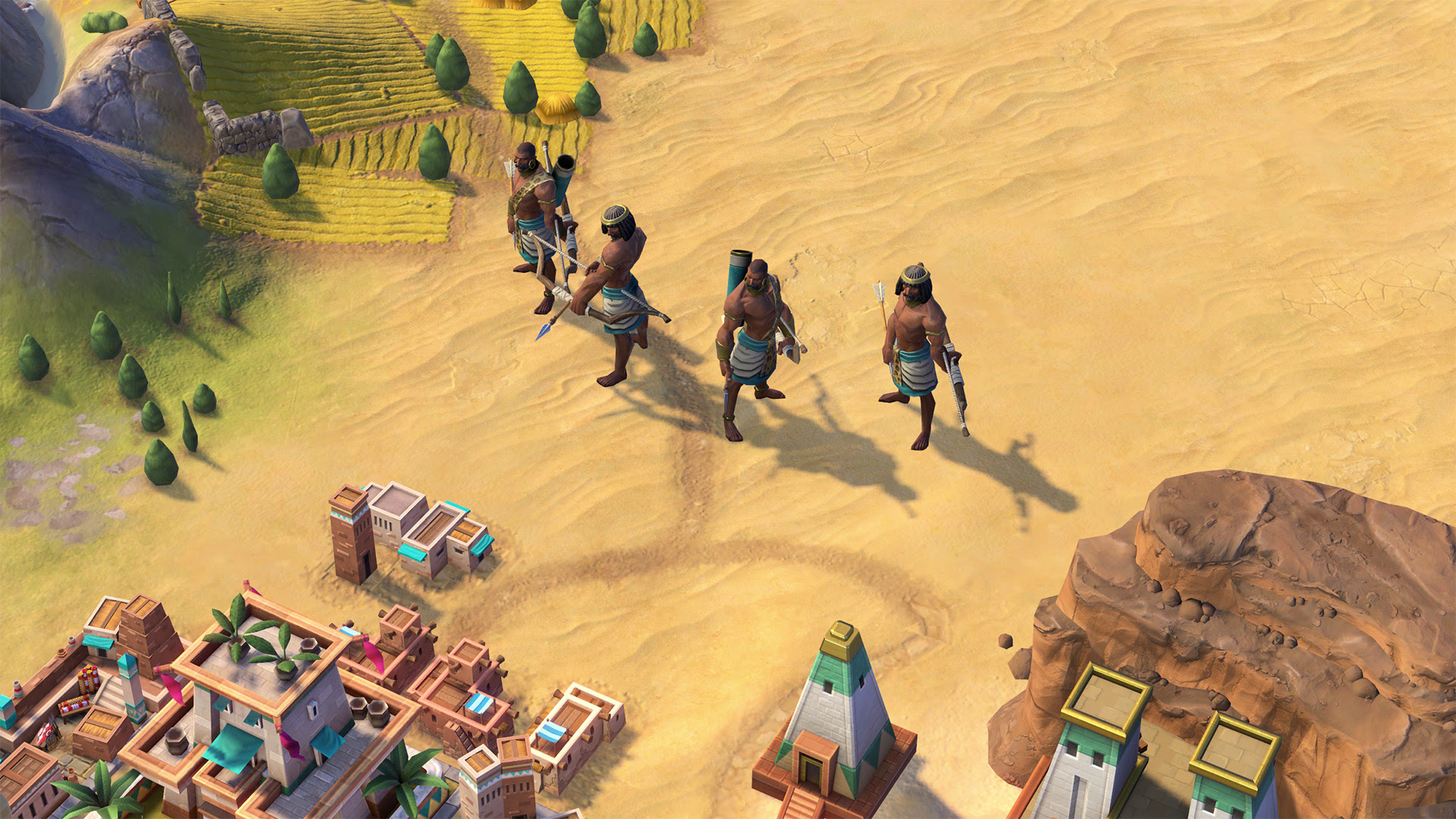 The Nubians are coming to Civilization VI screenshot