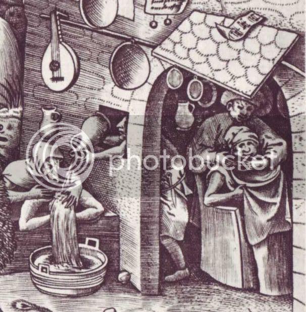 Brueghel,7 pecados mortais, soberba, 1556 (det.)