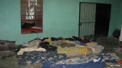Tamaulipas house from where 165 migrants were freed