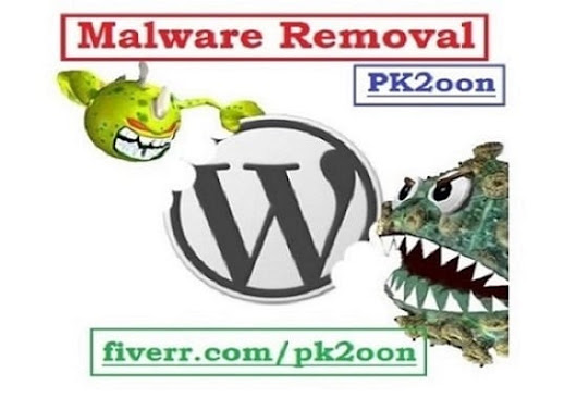 pk2oon : I will remove Malware from wordpress for $5 on www.fiverr.com