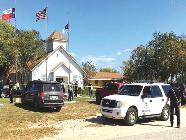 Gunman in Texas