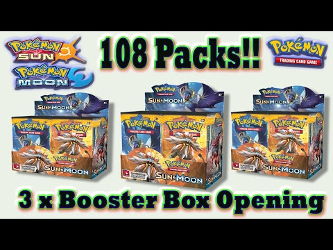 Sun & Moon - Pokemon Card Openings and Pokemon TCG card reviews