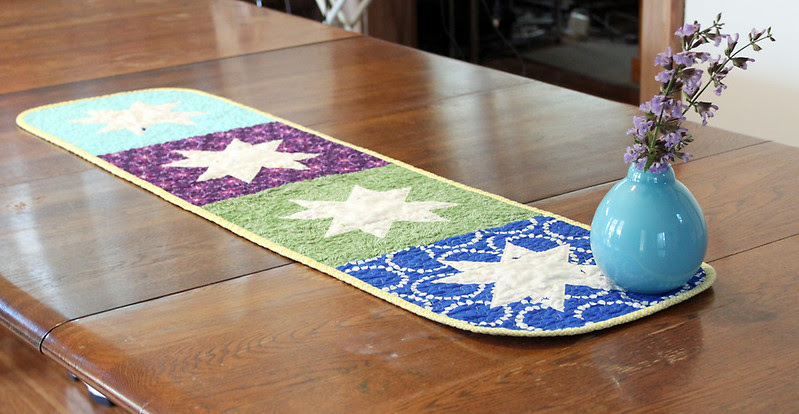 Earth and Sky Table Runner