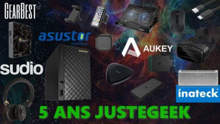 [Concours] 5 ans JusteGeek.fr
